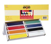 School Smart Colored Pencils, Assorted Colors, Set of 144 Item Number 411453