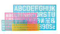 Stencils and Stencil Templates, Item Number 411488