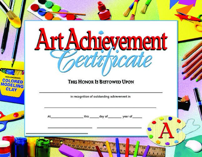 Award Certificates, Item Number 411498