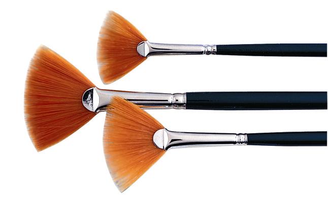 Artists Fan Blender Brush Set, Item Number 411602