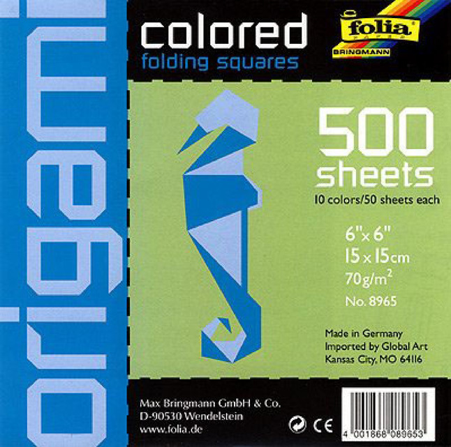 Origami Paper, Origami Supplies, Item Number 411864
