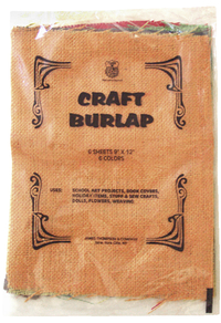 Ribbon and Burlap and Felt, Item Number 413144
