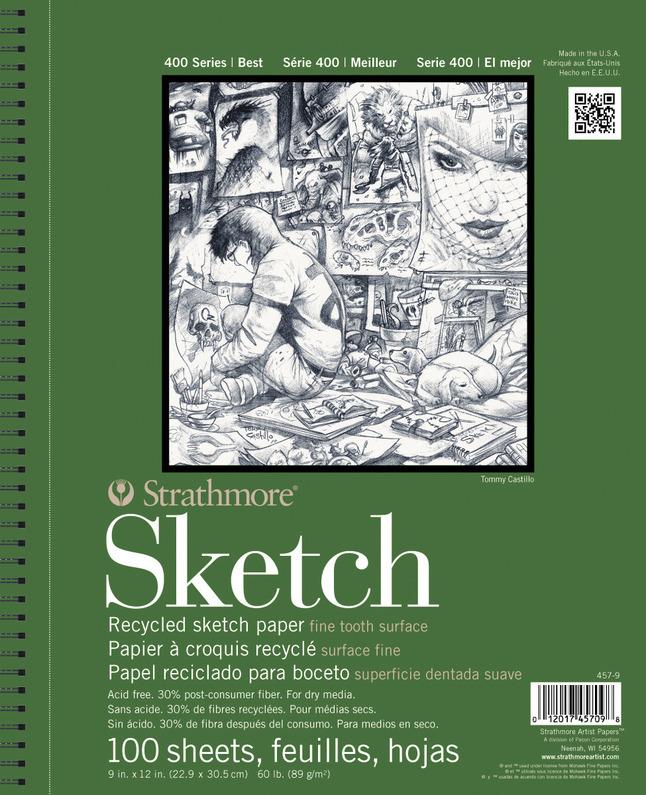 Sketchbooks, Item Number 420154