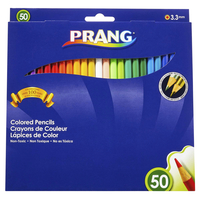 Prang Colored Pencils, Assorted Colors, Set of 50 Item Number 423339