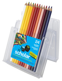 Prismacolor Scholar Pencils, Assorted Colors, Set of 24 Item Number 423353