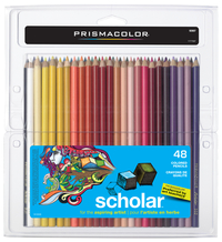 Prismacolor Scholar Pencils, Assorted Colors, Set of 48 Item Number 423355