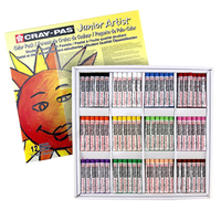 Sakura Cray-Pas Junior Artist Oil Pastel Colorpack, Assorted Colors, Set of 432 Item Number 424992