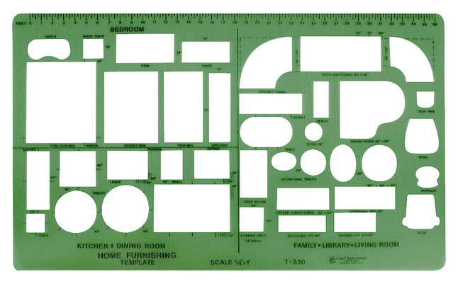 Stencils and Stencil Templates, Item Number 427259