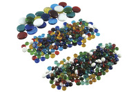 Jennifer's Mosaics Glass Globs Assortment, Assorted Colors, 3 Pounds Item Number 444065