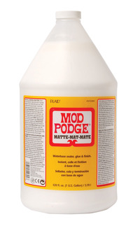 Mod Podge Sealer and Finish, Matte, 1 Gallon Jug Item Number 455294