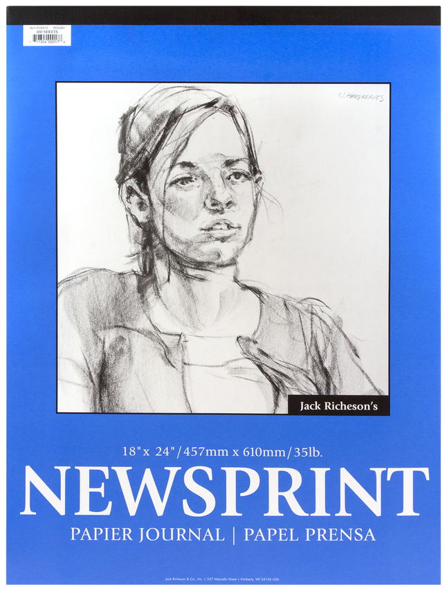 Newsprint Paper, Newsprint Pads, Item Number 457259