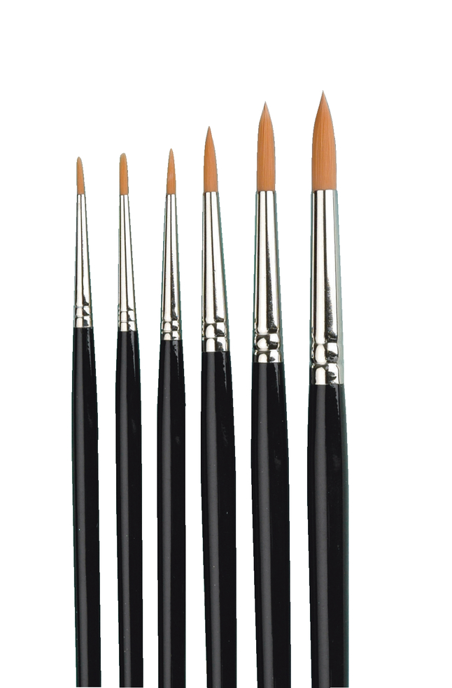 Watercolor Paint Brush Set, Item Number 462029