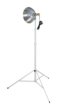 Testrite Visual 3 Section Light Stand, Bulb Sold Separately Item Number 463118
