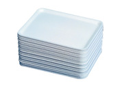 Styrofoam Printmaking & Collage Tray, 11 X 9 X 1 in, White, Pack of 250 Item Number 467732