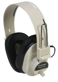 Califone 2924AVPV Deluxe Volume Control Mono Headphones Item Number 476450
