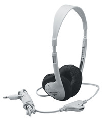 Califone 3060AV Multimedia Stereo Headphones, Beige Item Number 476462