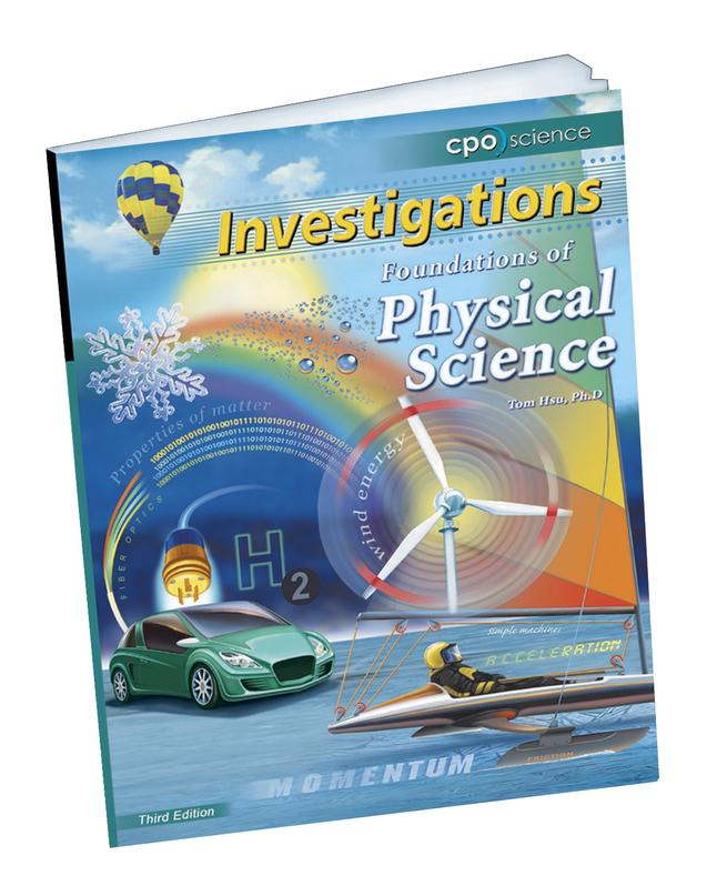 Physical Science Curriculum, Item Number 492-3830