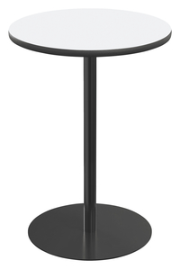 Image for Classroom Select Round Top Café Table with Round Base, Markerboard Top, 24 Inches, T-Mold Edge, Various Options from School Specialty