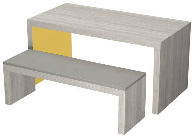 Image for Classroom Select Community Table, 2 Laminate Colors, 72 W x 48 D Inches, Various Options from School Specialty
