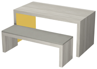 Image for Classroom Select Community Table, 2 Laminate Colors, 72 W x 36 D Inches, Various Options from School Specialty