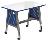 Image for Classroom Select Construct-IT Makerspace Utility Project Center, 72 x 30 Rectangle, Markerboard, LockEdge, Various Options from School Specialty