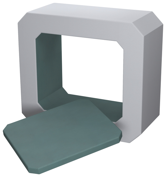 Image for Classroom Select NeoPod with Legs and Power, Foam, Square, 1 Color, 57 W x 24 D x 55 H Inches, Various Options from School Specialty