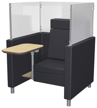 Image for Classroom Select NeoLink Cubicle Chair with Power, 40 W x 37-3/4 D x 54 H Inches, Various Options from School Specialty