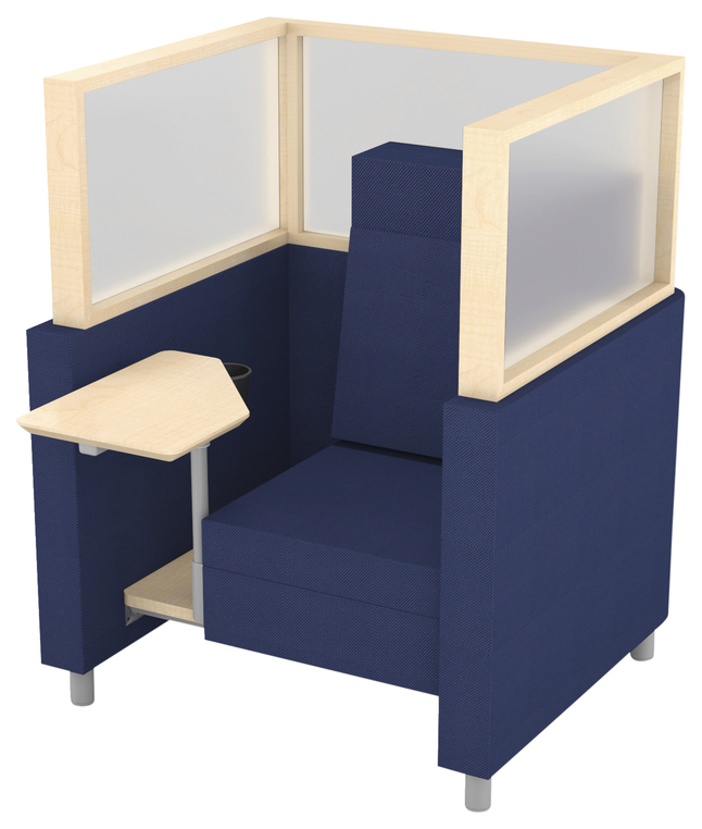 Image for Classroom Select NeoLink Cubicle Chair, 40 W x 37-3/4 D x 52 H Inches, Various Options from School Specialty