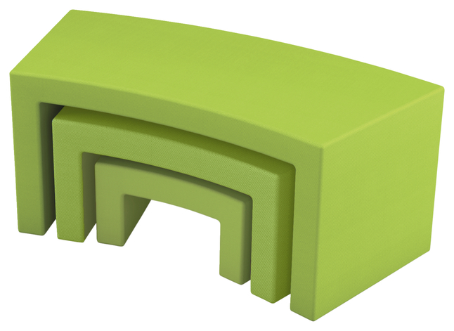Image for Classroom Select NeoLink 3 Pack Bench Nesting Tier, 69 W x 57 D x 24 H Inches, Various Options from School Specialty