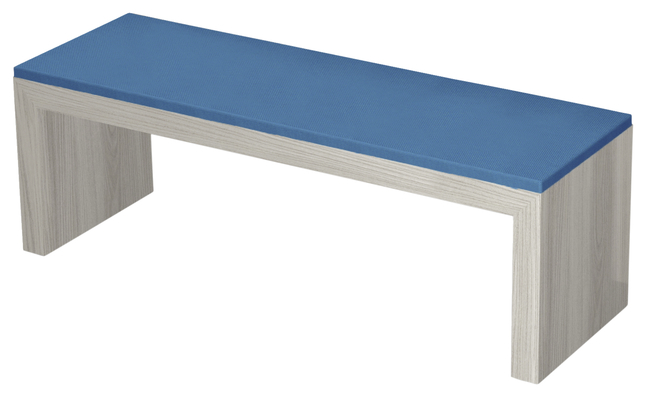 Image for Classroom Select Community Table Bench, Single, Laminate with Cushion, 53 W x 17 D x 18 H Inches, Various Options from School Specialty