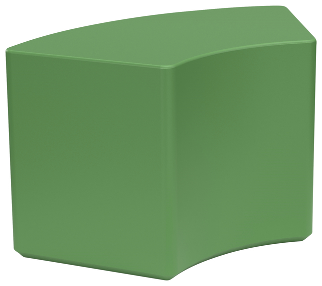 Image for Classroom Select NeoSit Foam Ottoman, Arc, 38 W x 18 D x 18 H Inches, Various Options from School Specialty
