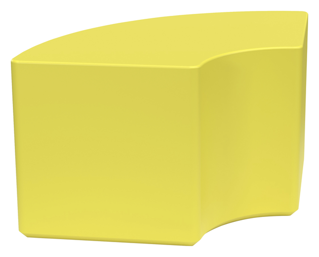 Image for Classroom Select NeoSit Foam Ottoman, 1/4 Round, 27 W x 18 D x 18 H Inches, Various Options from School Specialty