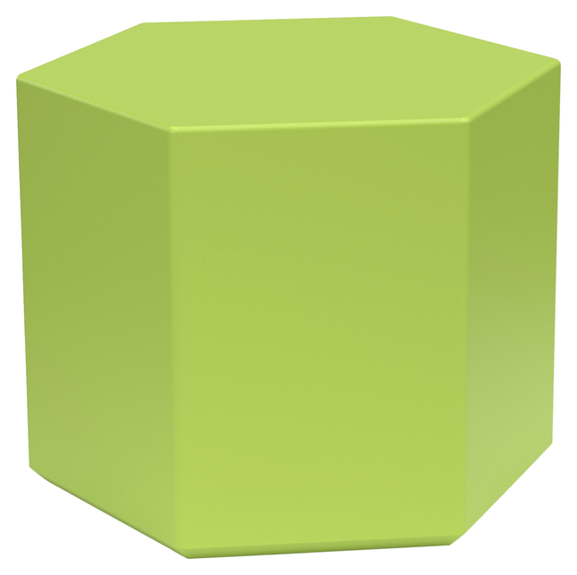 Image for Classroom Select NeoSit Foam Ottoman, Hexagon, 24 W x 26 D x 18 H Inches, Various Options from School Specialty