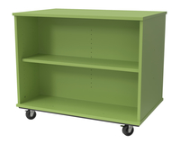 Image for Classroom Select Expanse Series Mobile Storage Open Bookcase, Locking Casters, 36 W x 24 D x 30 H Inches, Various Options from School Specialty
