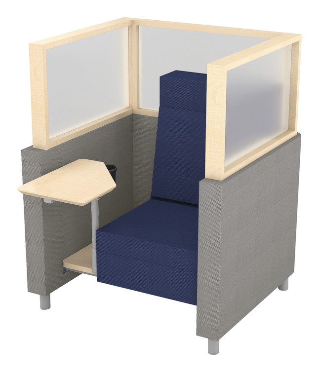 Image for Classroom Select NeoLink Cubicle Chair, 40 W x 37-3/4 D x 53 H Inches, Various Options from School Specialty