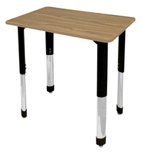 Image for Classroom Select Traditional Study Top Desk, 20x26 Rectangle Laminate Top, NeoClass Legs, Various Options from School Specialty