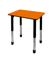 Image for Classroom Select Traditional Study Top Desk, 20x26 Rectangle Markerboard Top, Black T-Mold Edge, Apollo Legs from SSIB2BStore