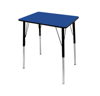 Image for Classroom Select Traditional Study Top Desk, 20x26 Rectangle Markerboard Top, Black T-Mold Edge, Standard Legs from SSIB2BStore
