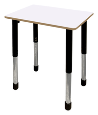 Image for Classroom Select Traditional Study Top Desk, 20x26 Rectangle Markerboard Top, Apollo Legs from School Specialty