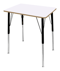 Image for Classroom Select Traditional Study Top Desk, 20x26 Rectangle Markerboard Top, Standard Legs from School Specialty
