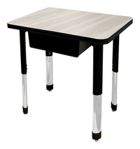 Image for Classroom Select NeoShape Activity Desk, 20x30 Rectangle Markerboard Top, LockEdge Edge, NeoClass Legs from SSIB2BStore