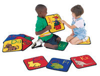 Carpets for Kids ABC Phonics Carpet Squares, 12 Inches, Set of 26 Item Number 1324812