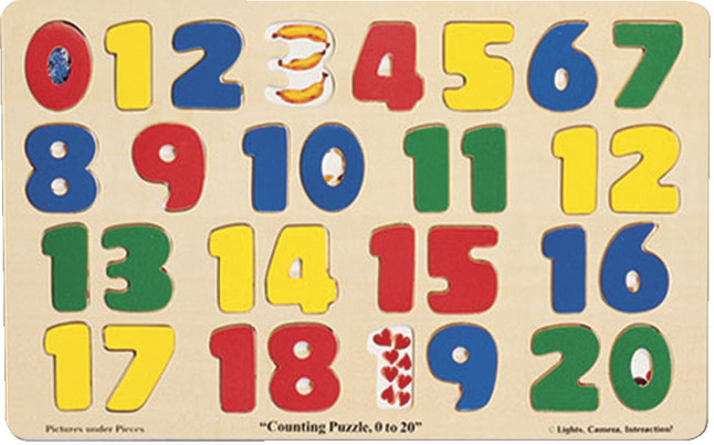 Early Childhood Knob Puzzles, Item Number 520827