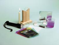 Frey Scientific Basic Optics Kit, 28 Pieces Item Number 527277