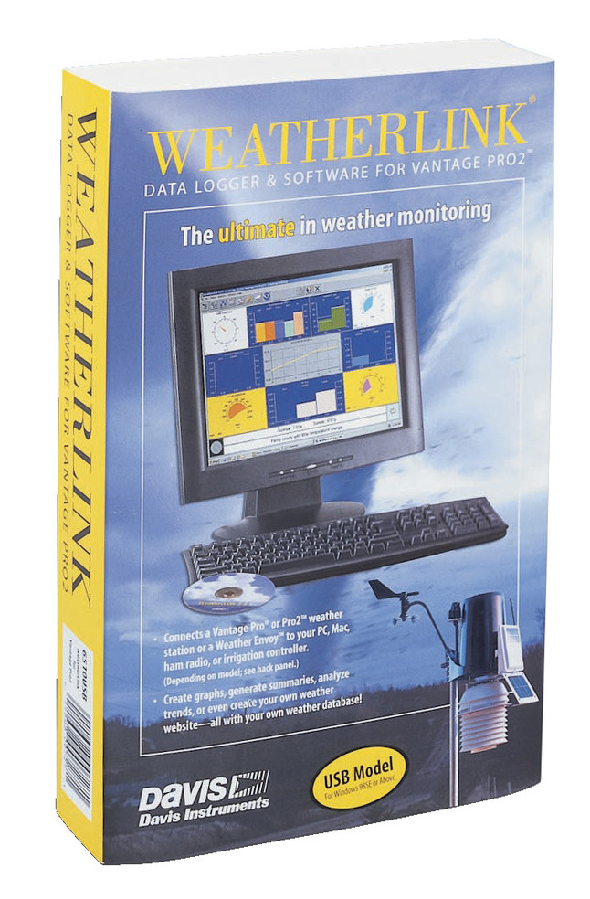 Davis Instruments Weather Reporting Software Ultimate CD for Windows