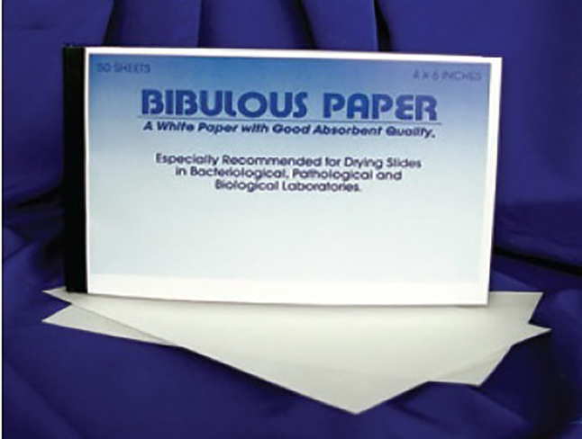 Image for Frey Scientific Bibulous Paper - 4 x 6 inches - Pack of 50 from School Specialty