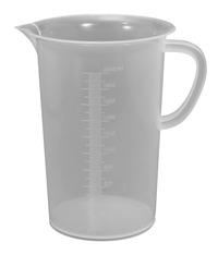 Frey Scientific Low Form Beaker with Handle, 2000 Milliliters, Polypropylene Item Number 594519