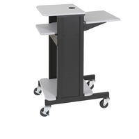 Balt Presentation Cart, 40-1/4 x 18 x 30 Inches, Gray Top Item Number 677897