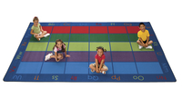 Image for Carpets for Kids Colorful Places Seating Rug, 8 Feet 4 Inches x 13 Feet 4 Inches, Rectangle from SSIB2BStore