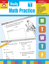 Math Practice, Math Review Supplies, Item Number 068076